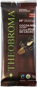 Theobroma Organic Dark 60% Chocolate with cocoa nibs