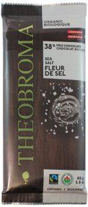 Theobroma Organic Milk 38% Chocolate with Salt